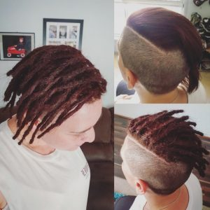 Half head starting dreadlocks Perth