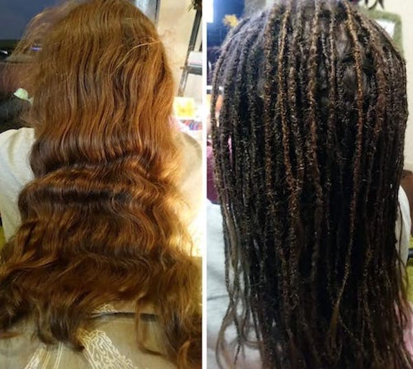 How to make dreadlocks with long hair