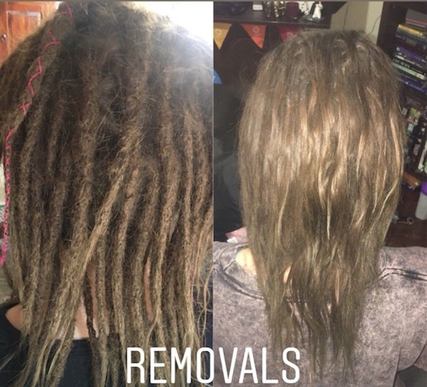 dreadlocks removal Rockingham Perth