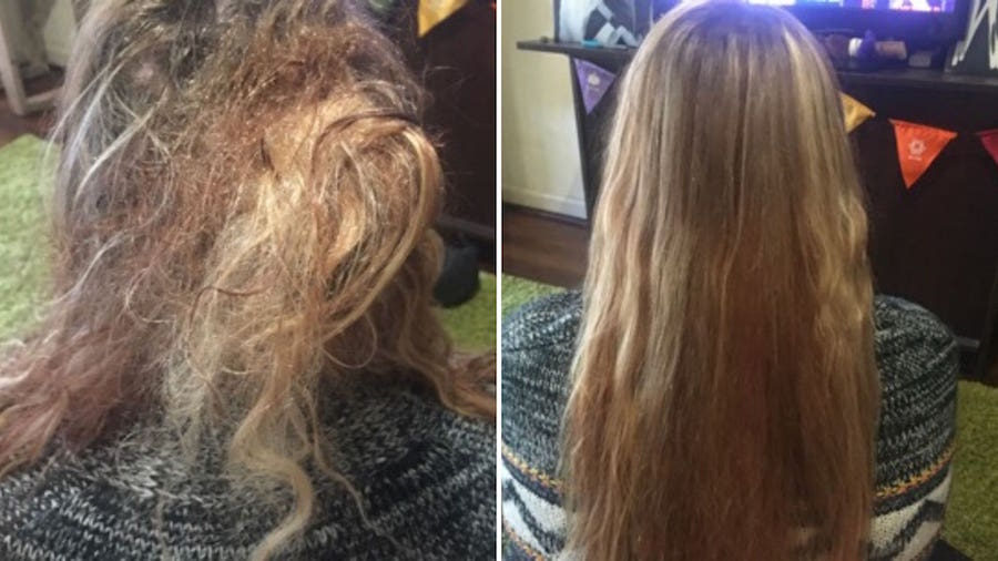 matted hair detangling Perth